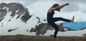 Capture d'écran de la danse de Pensée Sauvage